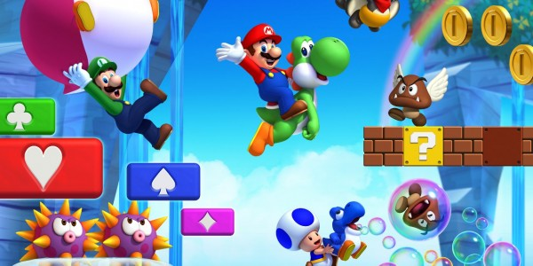 New Super Mario Bros Wii U 001