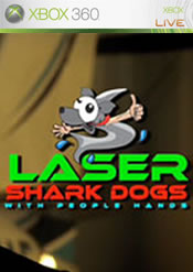 Laser Shark Dogs with People Hands