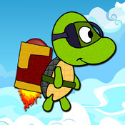 JetPack Turtle - Splash Flyer